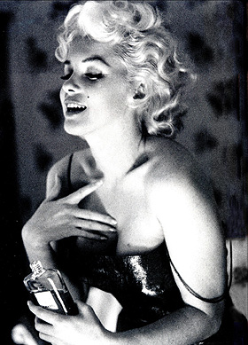 chanel no 5 mmonroe