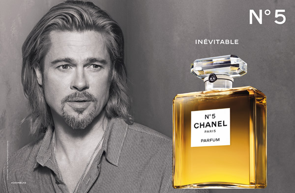 Chanel N° 5 advert, Brad Pitt