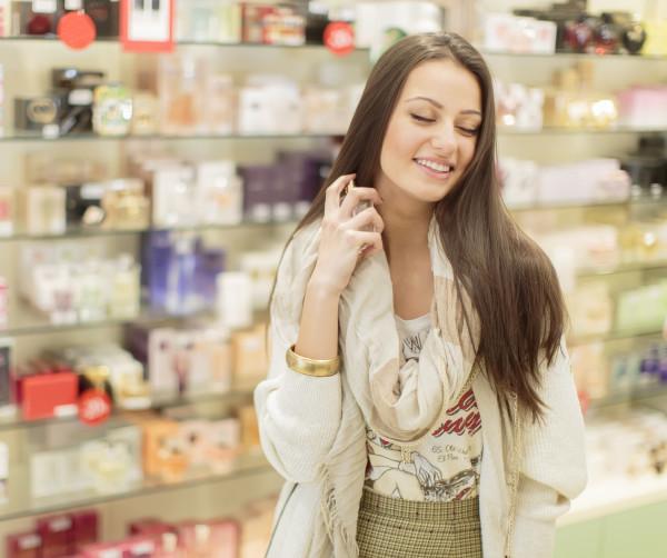 Testowanie perfum, perfumeria